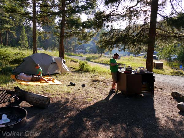 Tower Falls Campground