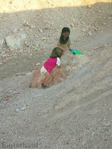 Spielen in der Wüste