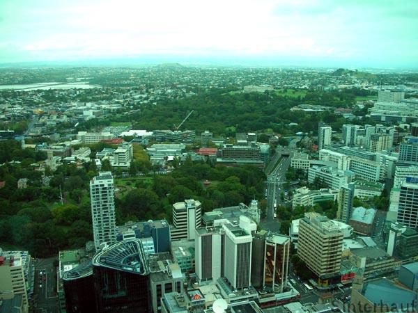 Ausblick vom Sky Tower