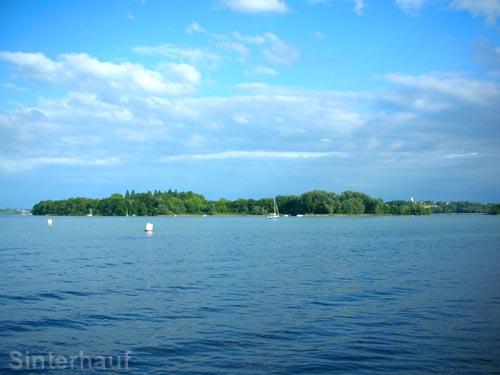 Bequem Radfahren mit Blick auf den Bodensee