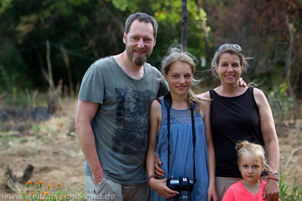 Familie Clavin auf Reisen