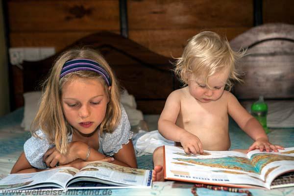 Reisen bildet - vor allem Kinder!