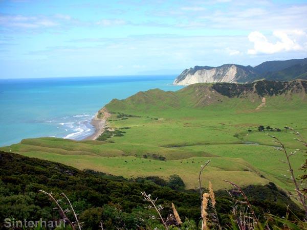 Ausblick vom Lighthouse auf das East Cape