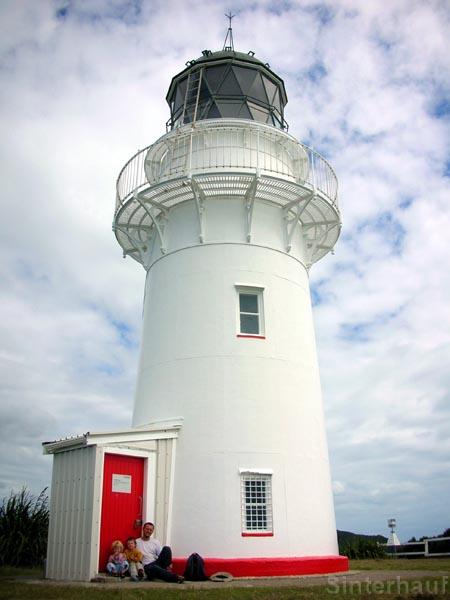 Der Leuchtturm am East Cape