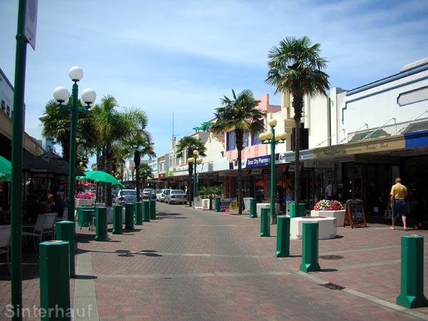 Einkaufsstraße in Napier