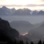 In Füssen endet der Romantische Straße Radweg