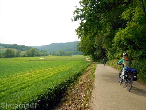 """Auf dem """"Liebliches-Taubertal-Radweg"""""""