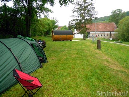 Campingplatz Schwabenmühle bei Weikersheim