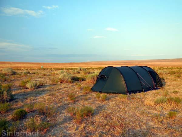 Zelten bedeutet grenzenlose Freiheit