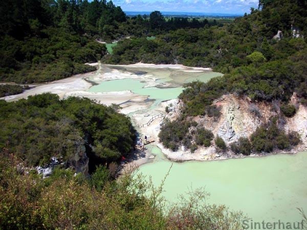 Waiotapu bei Rotorua