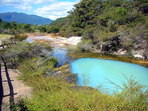 Das Geothermalgebiet Waimangu Valley