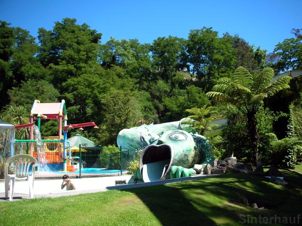 Hot-Water-Schwimmad in Taupo