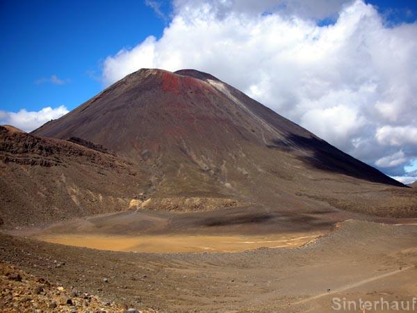 Der aktive Vulkan Mt. Ngauruhoe