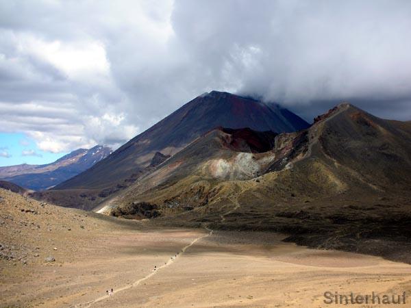 Spektakuläre Ausblicke im Tongariro NP