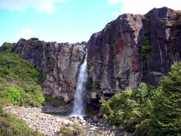 Wasserfälle im Tongariro Nationalpark