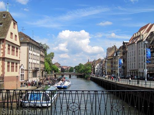 Der Rhein bei Straßburg