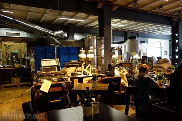 Kaffeerösterei in der Speicherstadt