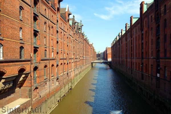 Die Speicherstadt Hamburg