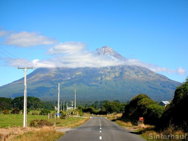 Pembroke Road zum Mt. Taranaki