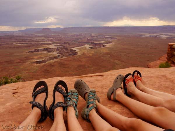 abendliches Chillen im Canyonlands NP