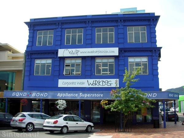 Mut zur Farbe ist in Neuseeland nichts Ungewöhnliches