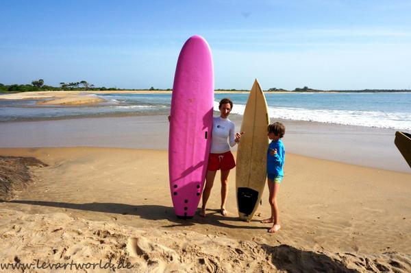 Aktiv im Urlaub - mit Kind auf Sri Lanka