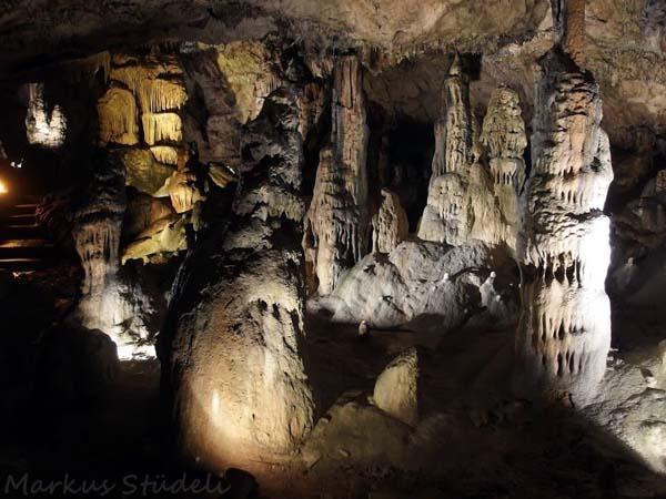 In der Grotte von Osselle