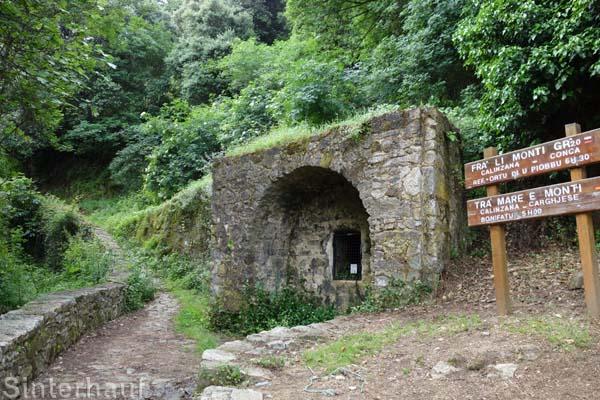 Einstieg zum Mare e Monti und GR20