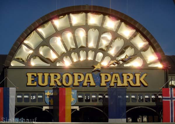 Das ersehnte Ziel - der Europa Park