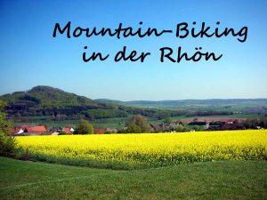Mountain-Biking in der Rhön