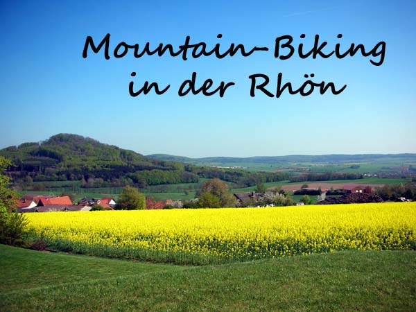 Mountain-Biking in der Rhön