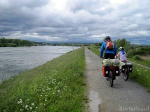 Erster Radeltag am Rhein