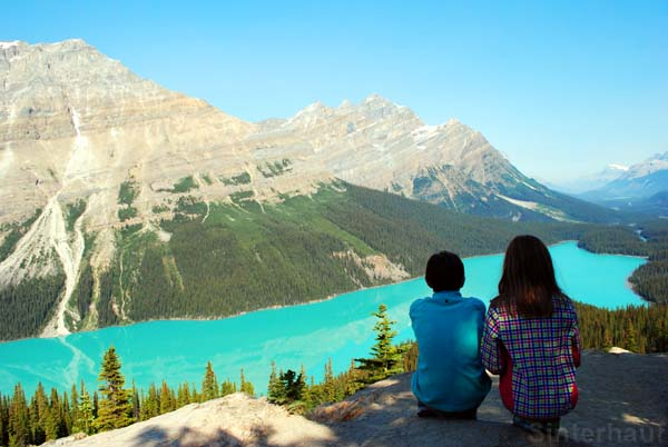 Peyto Lake Trail