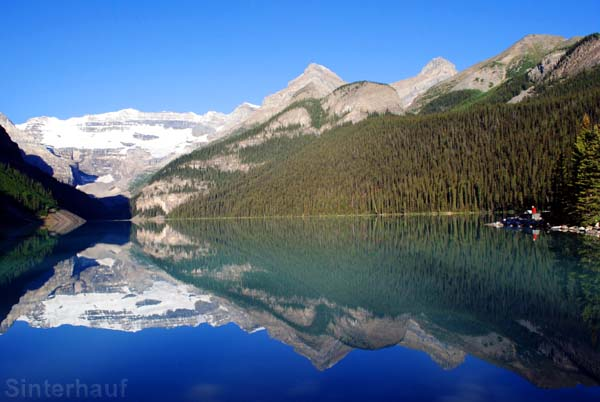 Lake Louise im Banff Nationalparl