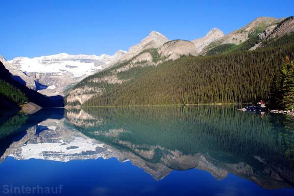 Lake Louise im Banff Nationalparl