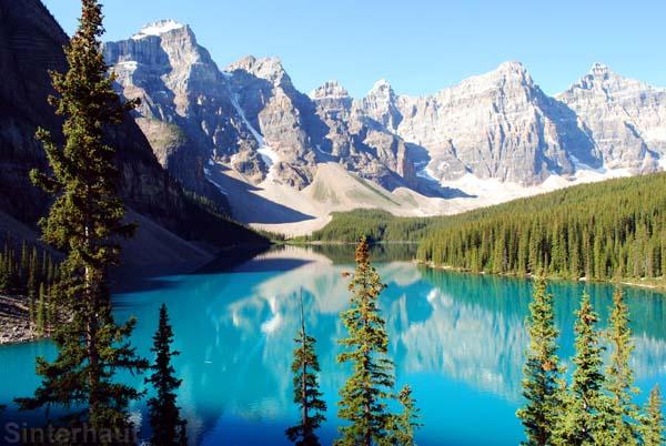 Lake Moraine im Banff Nationalpark