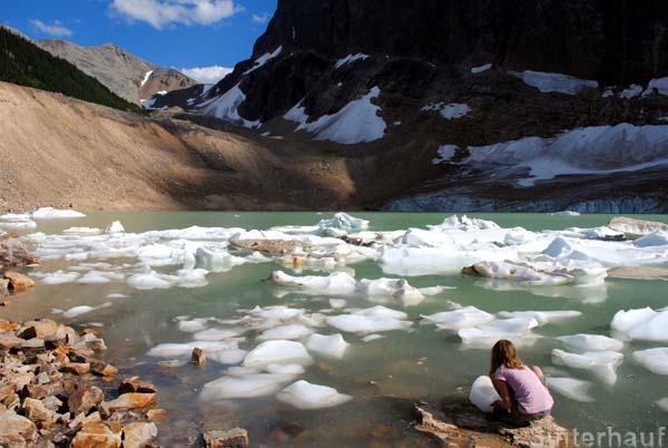 Gletschersee am Edith Cavell Mountain
