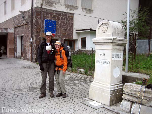 """""""Mit der Maus über die Alpen"""", heißt das Buch der Familie Winter"""