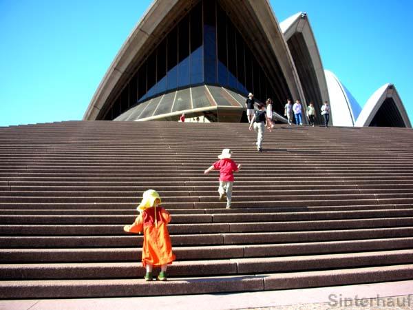 an der Sydney Opera