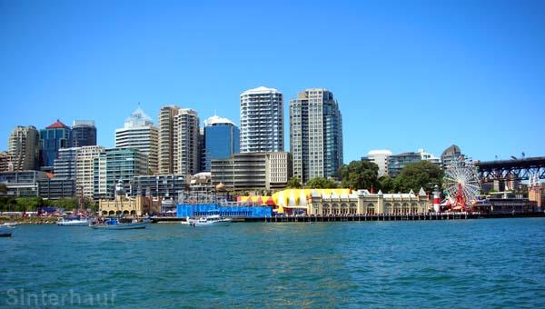 Sydney vom Wasser aus