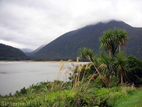 Schöne Landschaft, aber mit vielen Sandflies