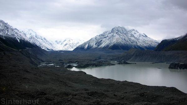 Tasman Gletscher und See