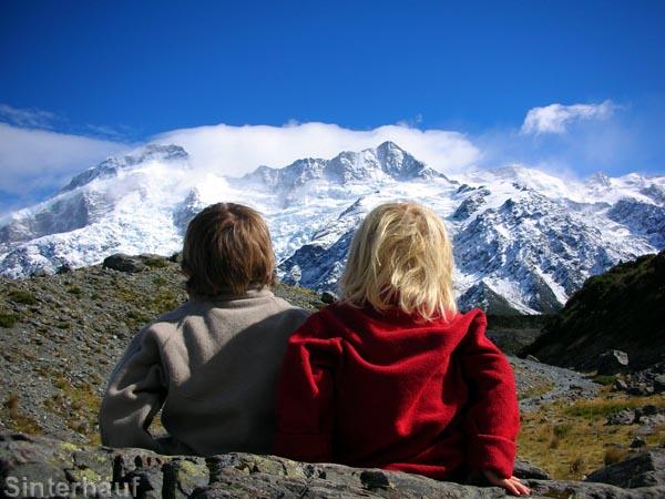 Faszinierendes Mt. Cook Bergmassiv