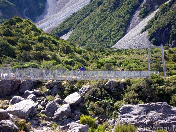 Auf dem Hooker Valley Track