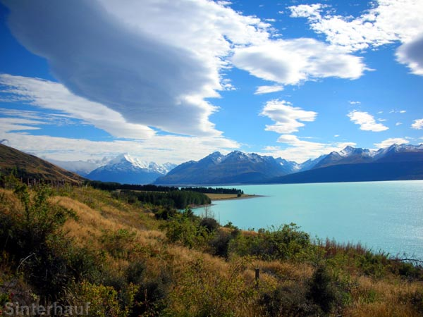 Lake Pukaki an der Road Nr. 80