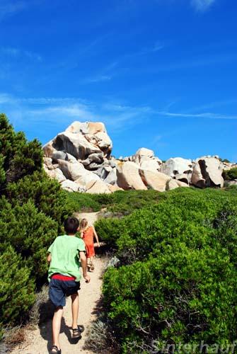 Ausflug zu den Granitfelsen
