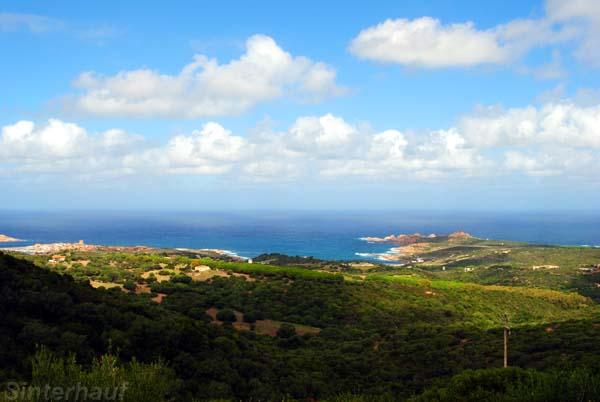 Küste am Golf von Asinara