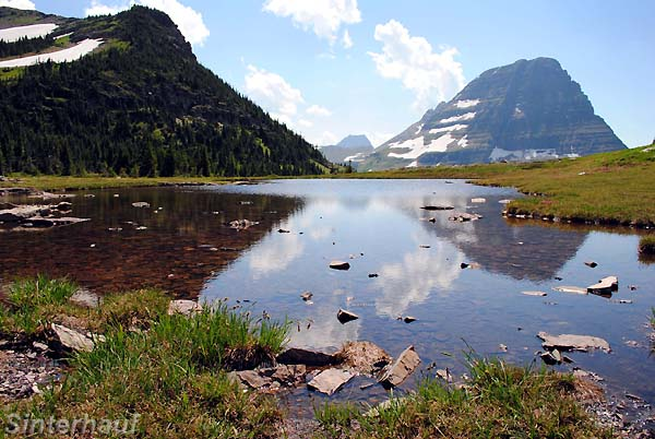 Glacier National Park in Montan