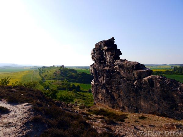 Mittelsteine an der Teufelsmauer