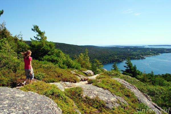 Wandern im Acadia Nationalpark